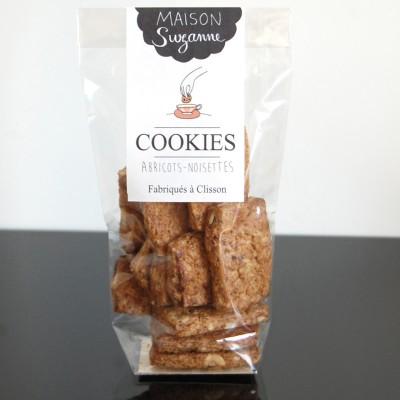 cookies abricots noisettes